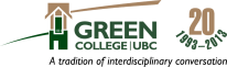 Green College logo with tagline 2013